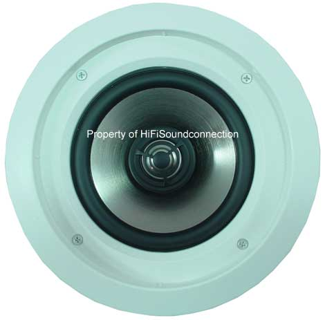 Infinity CS60R 6-1/2 Inch Home Audio Theater Low Frequency In-Ceiling Speaker