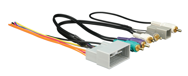 Metra 70-1730 Head Unit Wiring Harness for 2008-Up Honda Vehicles w/ Amplified Premium Sound System