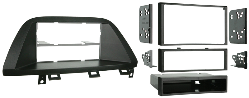 Metra 99-7869 Single or Double DIN Installation Kit for 2005-2008 Honda Odyssey Vehicles