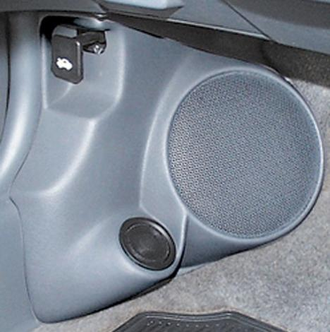 "Q Logic 97-00 Honda CRV 6 1/2"" Custom Speaker Kick Panel ..."