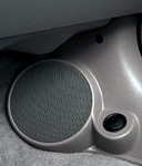 "Q Logic 01-05 Honda Civic 6 1/2"" Custom Speaker Kick Panel"