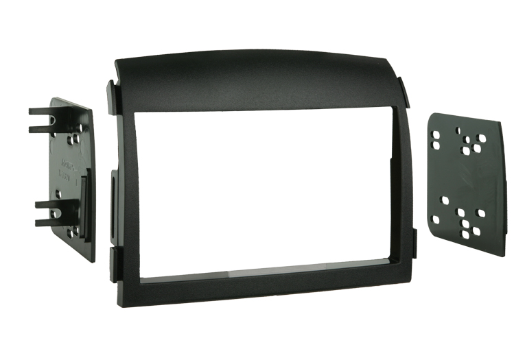 Metra 95-7320 Double DIN Installation Dash Kit for 2006-2008 Hyundai Sonata