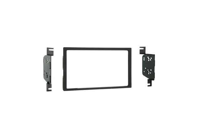 Metra 95-7332 Double DIN Installation Kit for 2007-Up Hyundai Elantra Vehicles (Radio Delete Models)
