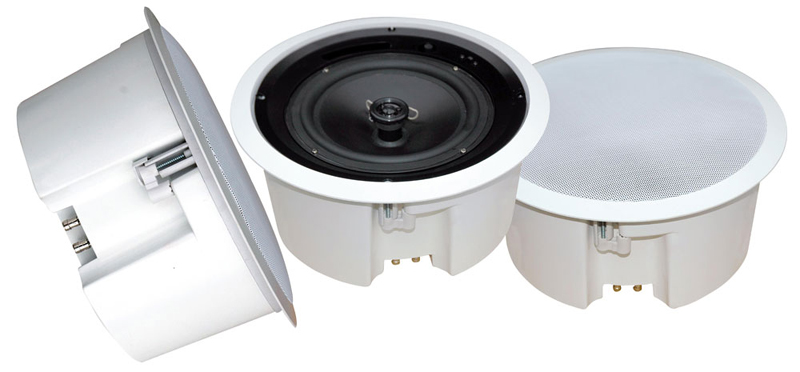 """Pyle Home Audio PDPC6T 6.5"""" In-Ceiling Enclosed Speaker System w/ Rotary Tapping 70V Transformer"""