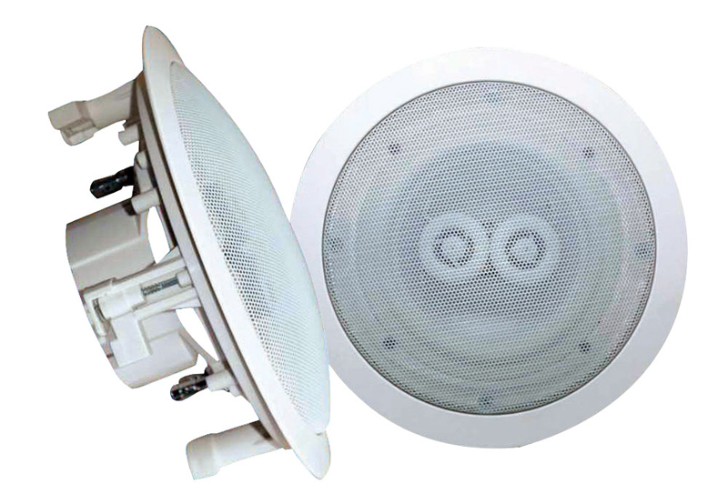 Pyle Home Audio PWRC82 8'' In-Ceiling (Dual Channel/ Voice Coil) Weather Proof Speaker