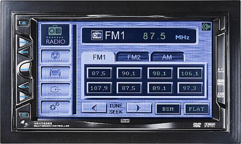 Dual XDVD8265 Car In-Dash Mobile Video AM/FM/CD Player