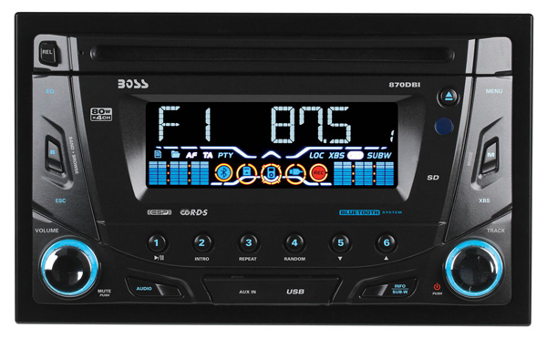 Boss Audio 870dbi Bluetooth Enabled In