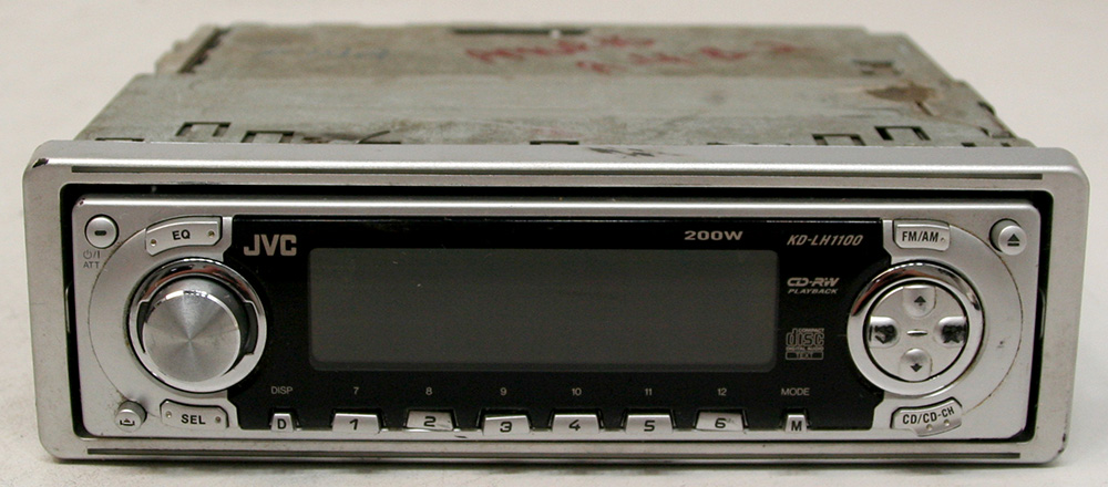jvc kd lh1100 aftermarket used 50 watts x 4 cd player. Black Bedroom Furniture Sets. Home Design Ideas