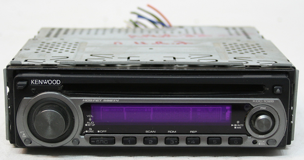 Kenwood kdc aftermarket used watts cd player