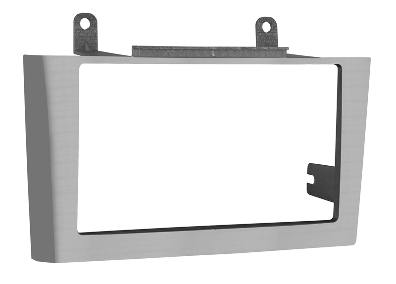 Metra 95-7416G Double DIN Installation Dash Kit for 2000-2003 Nissan Maxima w/ Bose Systems (Gray Finish)