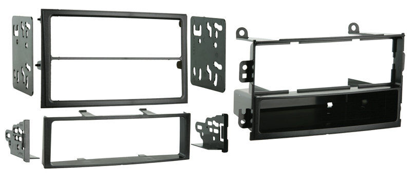 Metra 99-7402 Single DIN or Double DIN Installation Kit for 2003-2005 Nissan 350Z