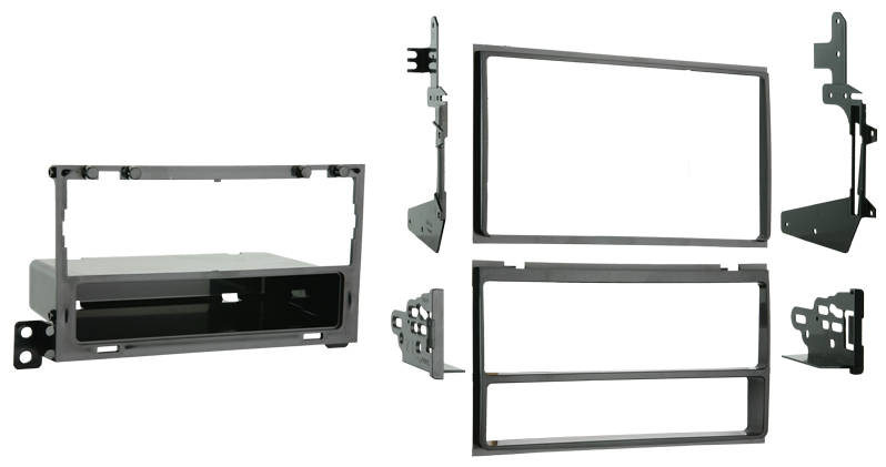 Metra 99-7421 Single DIN/Double DIN Installation Kit for 2007-2008 Nissan Maxima Vehicles