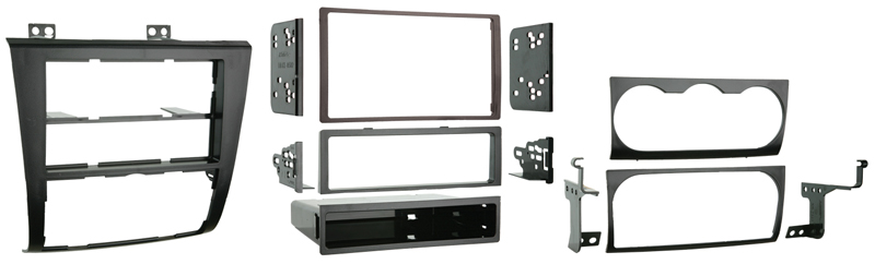 Metra 99-7423 SDIN/DDIN Dash Installation Kit for 2007-2013 Nissan Altima Vehicles