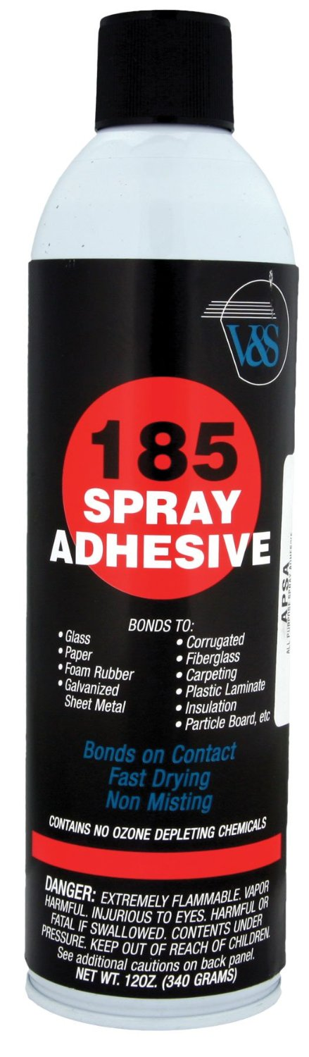 Install Bay APSA High Performance Fast Drying Non Misting Spray Adhesive