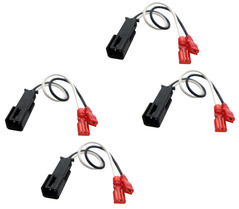 Porsche Cayman 2013-2017 Factory Speaker Replacement Connector Harness Package