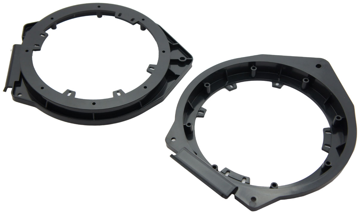 """Harmony Audio Compatible With 2007-2014 GMC Sierra HA-823006 Aftermarket 6.5"""" 6.75"""" Speakers Adapter"""