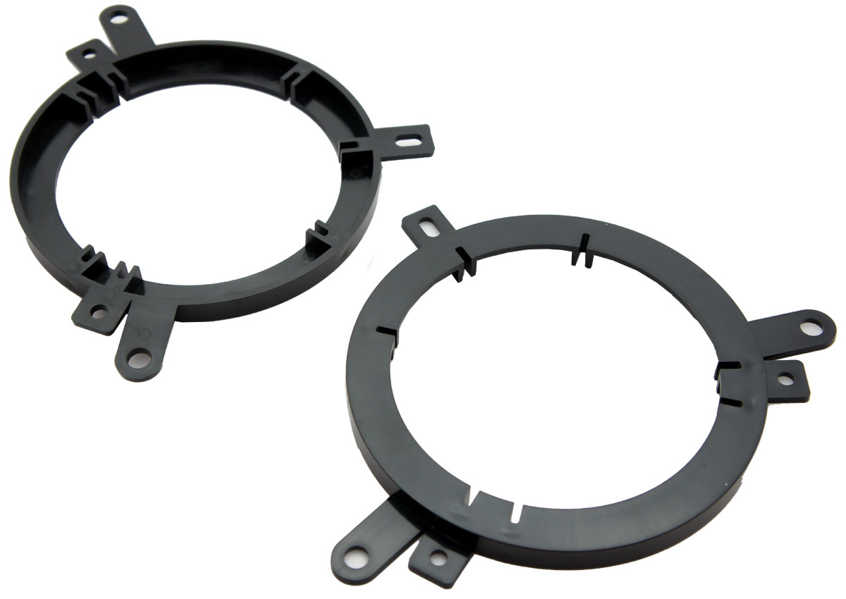 """Harmony Audio Compatible with 2001-2010 Chrysler PT Cruiser HA-826600 Aftermarket 5.25"""" 6.5"""" Speakers Adapter Kit"""