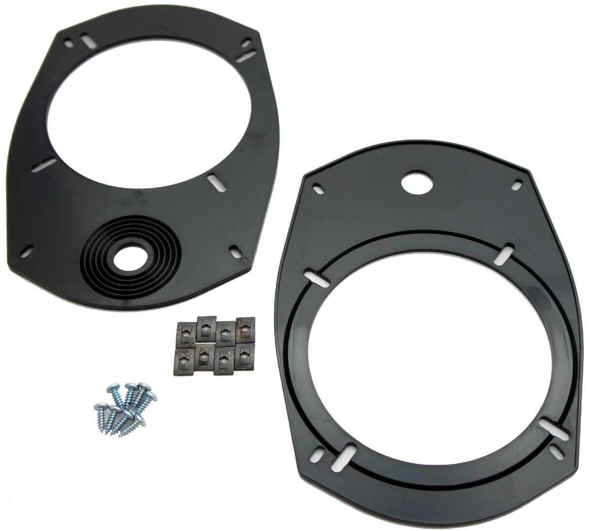 """Fits Jeep Dodge Multi Model Factory 6x9"""" to Aftermarket Speakers Adapter Kit"""