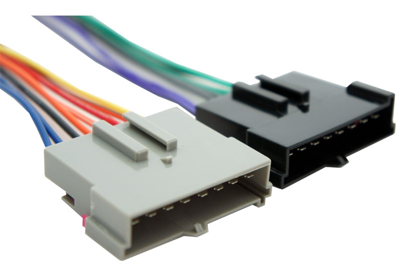 Harmony Audio Compatible With 1986-1997 Ford F-350 Truck HA-701770 Factory Stereo To Aftermarket Radio Harness Adapter