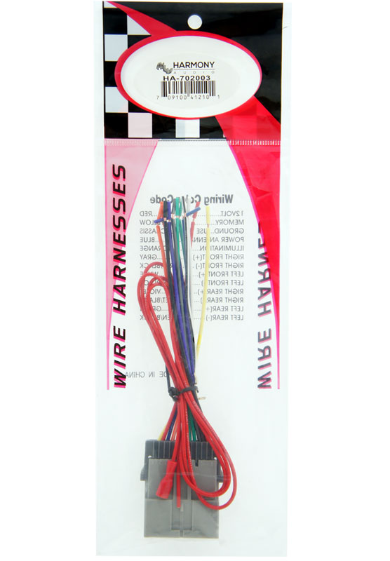 Installation-Harness-HA-702003-2-detailed-image-2 Walmart Wiring Harness Gm on gm wiring connectors, gm alternator harness, gm wiring alternator, gm wiring gauge, radio harness, obd2 to obd1 jumper harness,