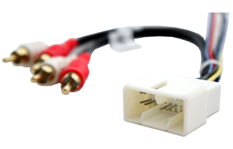 Harmony Audio Compatible With 1992-00 Lexus SC 300 HA-708112 Factory Stereo To Aftermarket Radio Harness Adapter