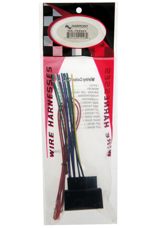 Speaker Wire Color Diagram On Stereo Wiring Harness 2006 Ford Escape
