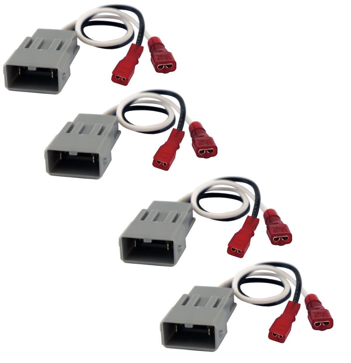 Harmony Audio Compatible With 1982-1985 Honda Accord HA-727800 Speaker Replacement Connector Harness