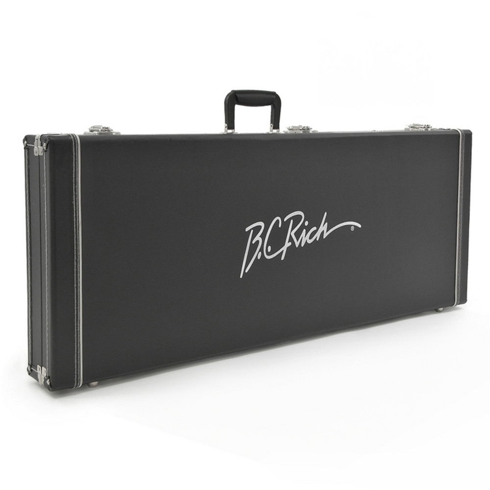 bc rich bcigc2 hard shell guitar hardshell case with plush interior for mockingbird or bich. Black Bedroom Furniture Sets. Home Design Ideas