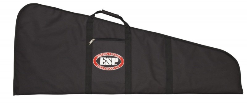 ESP CGIGDXBW High Quality Deluxe Wedge Gig Bag for LTD Guitars w/ Plush Lining