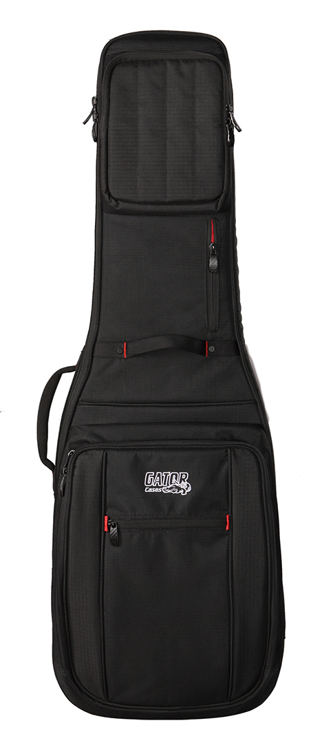 Gator Cases G-PG ELECTRIC Progo Series Guitar Bag with Micro Fleece Interior and Backpack Straps