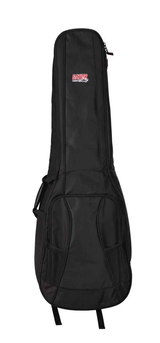 Gator Cases GB-4G-BASSX2 GFLEX Padded Gig Bag for 2x Bass Guitars with Adjustable Straps