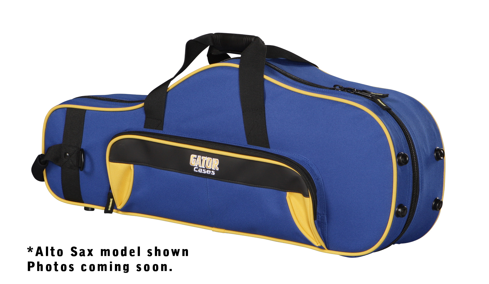 Gator Cases GL-TRUMPET-YB Spirit Series Trumpet Case Yellow & Blue with Removable Shoulder Strap
