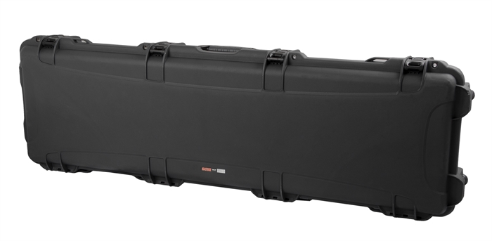 Gator Cases GWP-BASS ATA Impact & Water Proof  Case for Standard Jazz/Precision Style Bass Guitars - Black