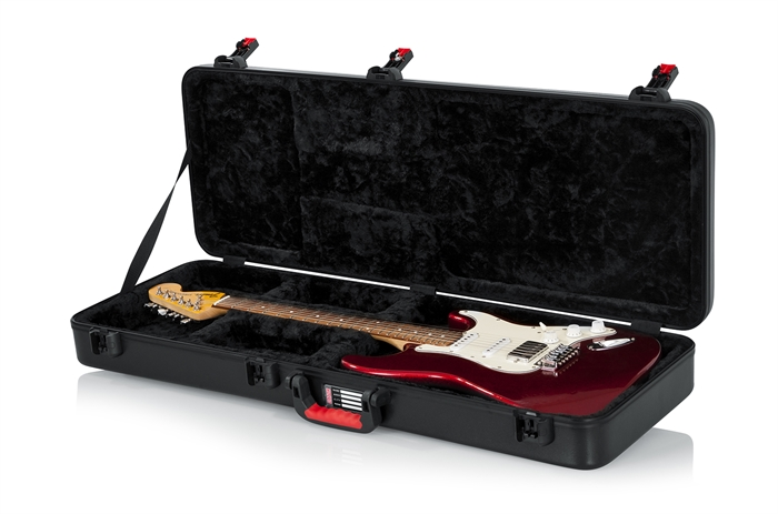 Gator Cases GTSA-GTRELEC TSA Series ATA Molded Standard Electric Guitar Case