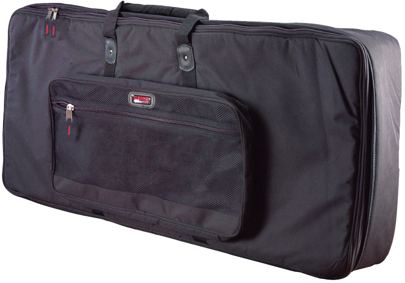 "Gator Cases GKB-61 SLIM Keyboard Gig Bag to fit Most Slim Model 61 Note Keyboards. Internal dims 41.5"" x 12.5"" x 5"""