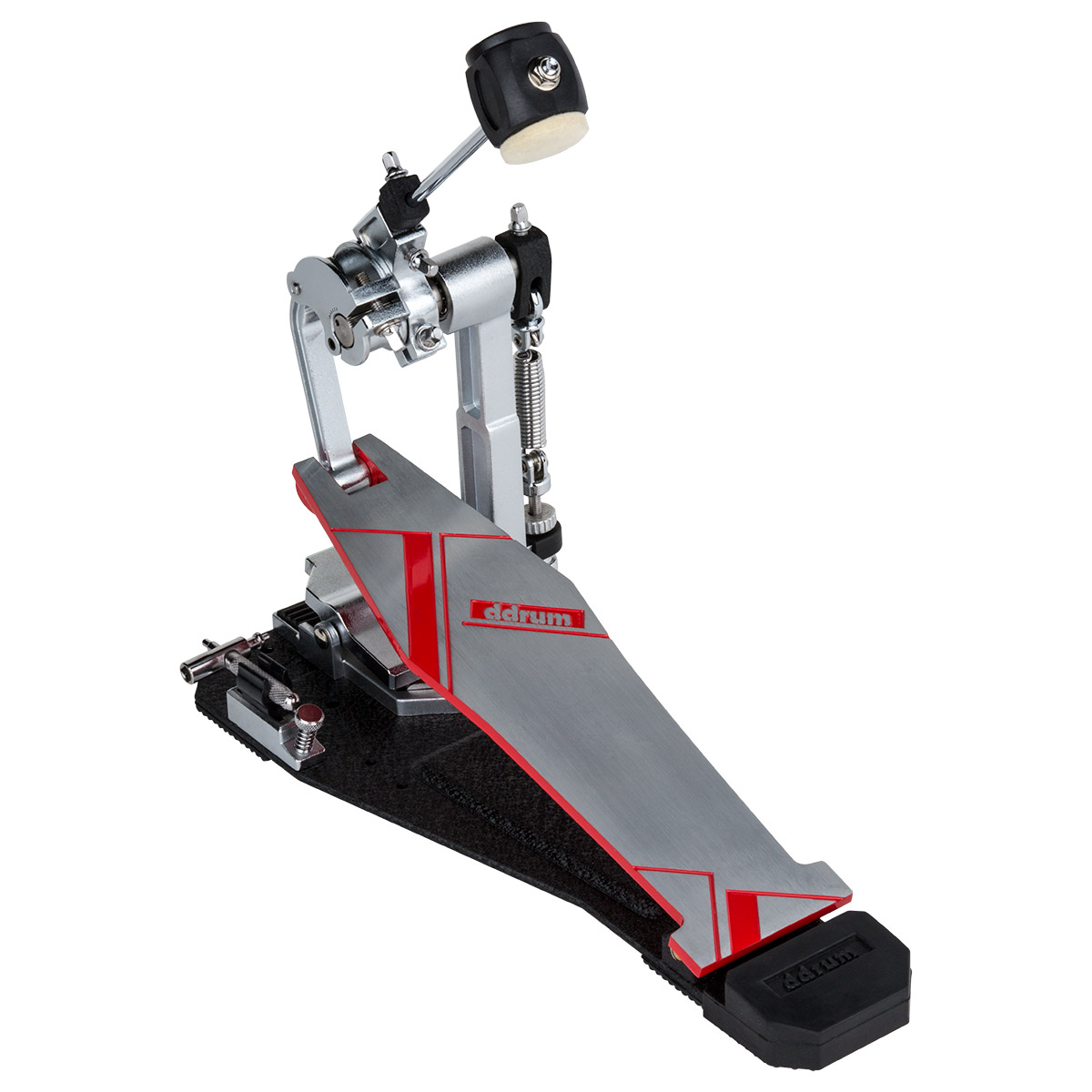 ddrum quicksilver direct drive single drum pedal with adjustable beater distance 814064025127 ebay. Black Bedroom Furniture Sets. Home Design Ideas