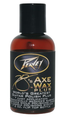 Peavey HP's Axe Wax Plus 2 Oz Bottle with Flip Top Easy Application Guitar Polish (3004560)