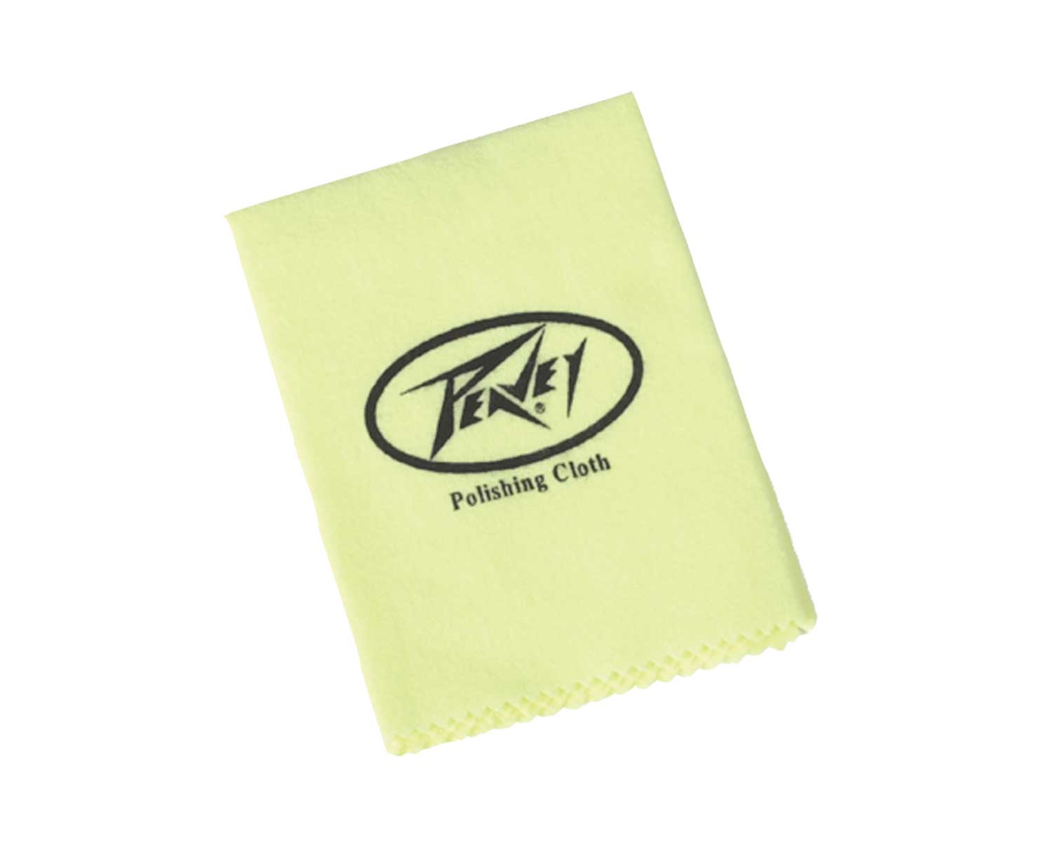 Peavey Individually Packed Guitar Care & Cleaning Yellow Polish Cloth (484330)