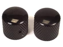 "Peavey Dome Guitar Knobs Black for Tightening 1/4"" Solid-Shaft Pot (73220)"