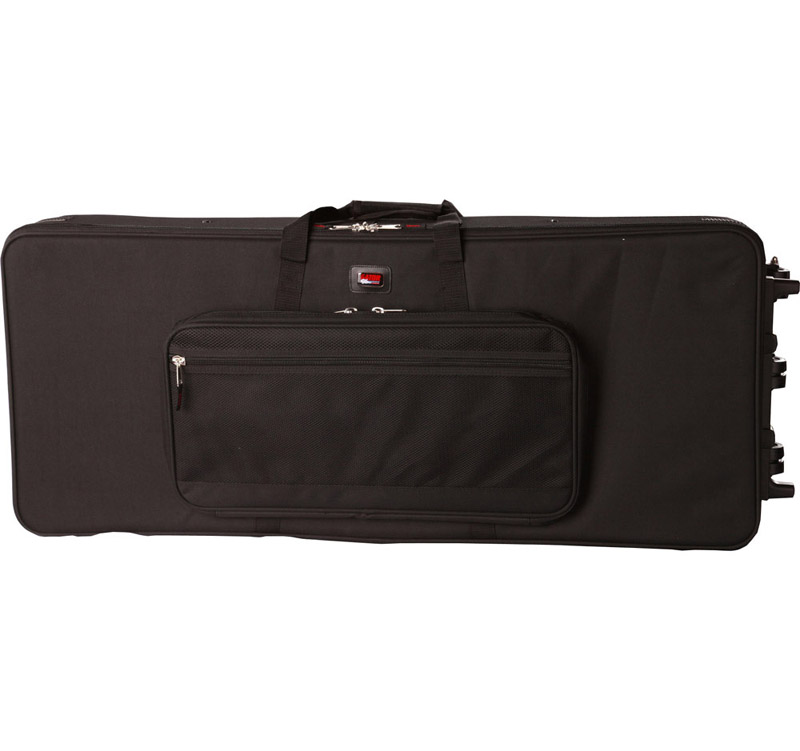 GATOR CASES GK-76-SLIM RIGID EPS FOAM CASE / BAG 76 NOTE KEYBOARDS - New Return