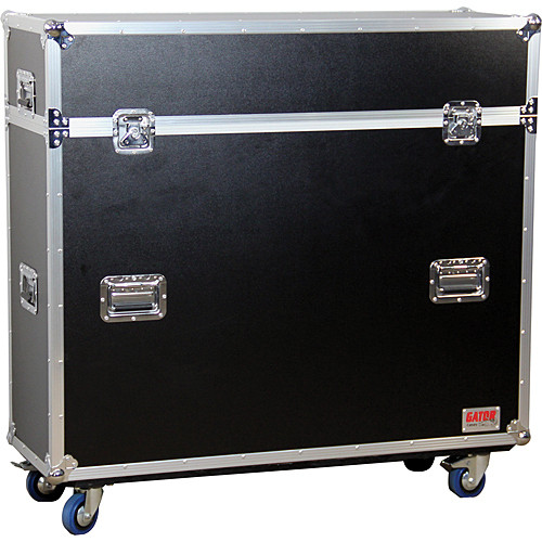 Gator Cases G-TOUR ELIFT 42 Inch LCD / Plasma Road Case w/ Electric Lift & Casters ATA Wood Flight
