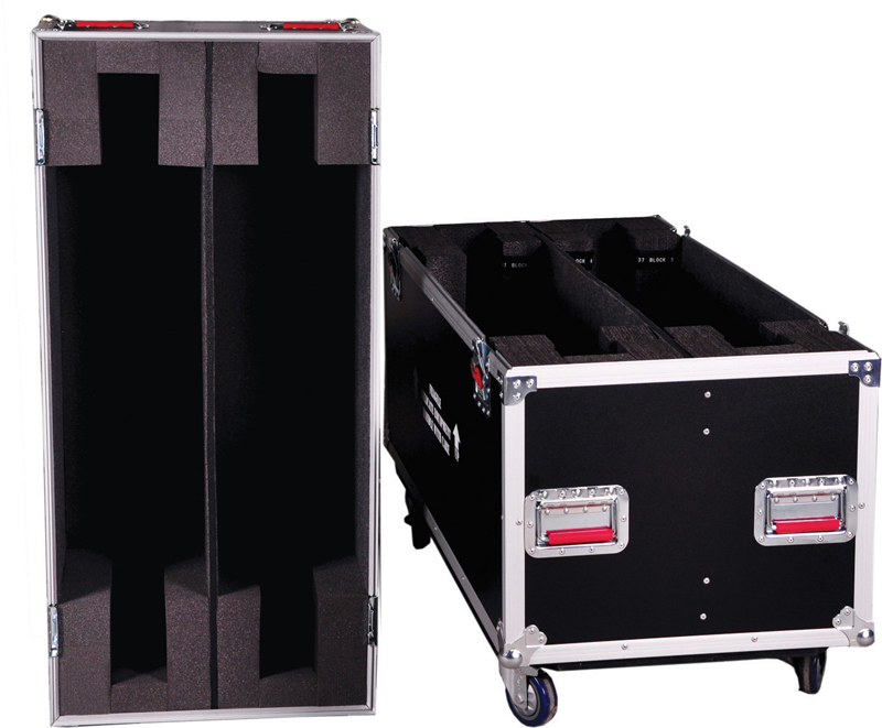 "Gator Cases G-TOURLCD5055X2 Flight Case Fits Two 50""-55"" LCD/Plasma Screens"