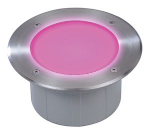 Elation ELAR-2E11LED Multi-colored RGB In-Ground Light