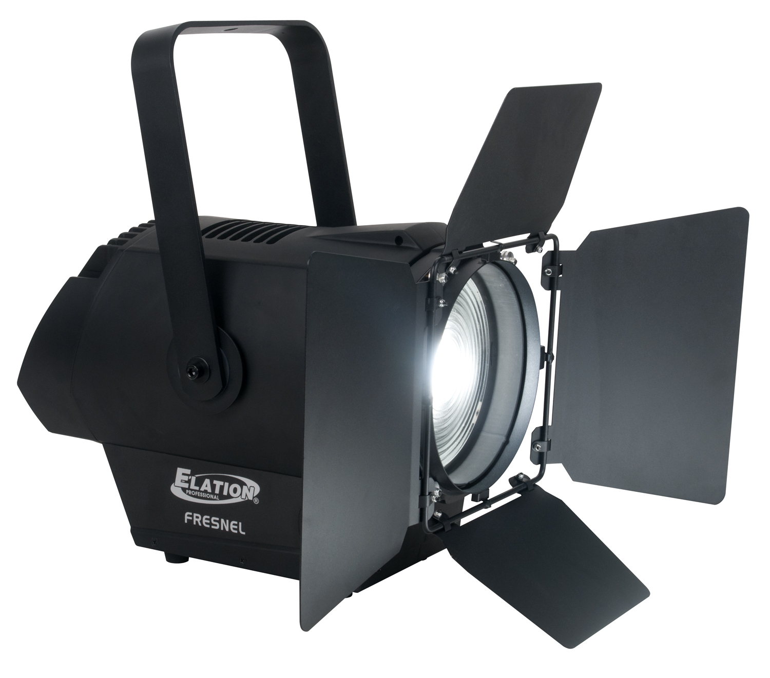 Elation DW FRESNEL 3 DMX Channel Flood Par Stage Lighting with 250W Dynamic White LED Engine White (DLE064)
