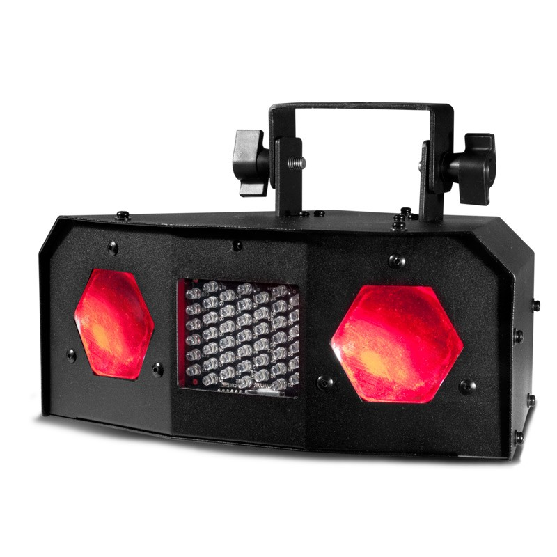 American DJ DUAL GEM PULSE IR LED Dual Lens Moonflower & Strobe Lighting Effect Fixture
