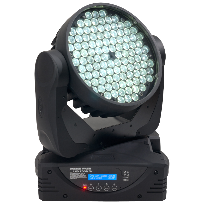 Elation DWZ068 Cool White Moving Head Light Fixture (Design Wash LED ZOOM CW)