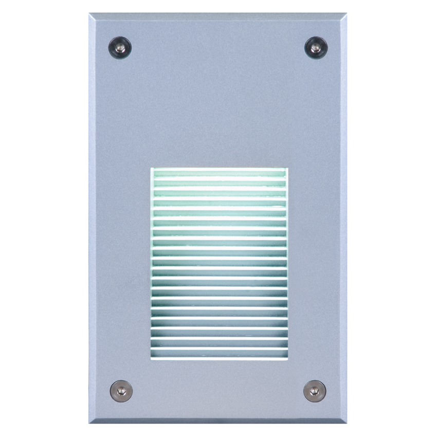 Elation ELAR-1I02B Architectural Outdoor Recessed 20 Super Bright LED Blue Wall Light