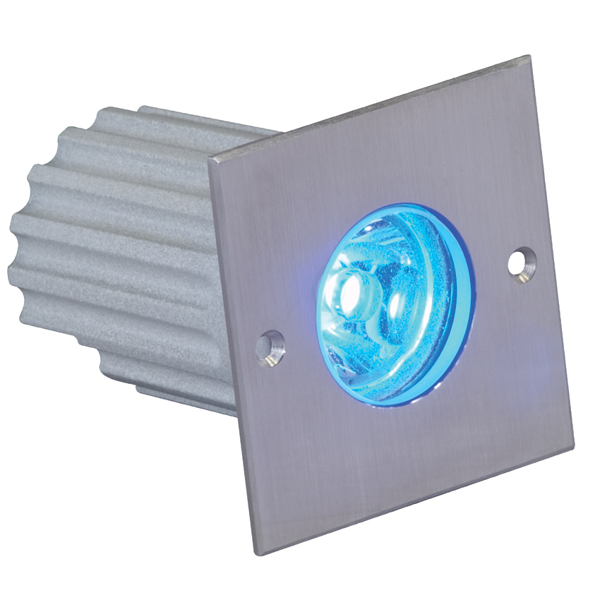 Elation ELAR-2C04CW Architectural Inground Lights with Colored Cool White Light 1W