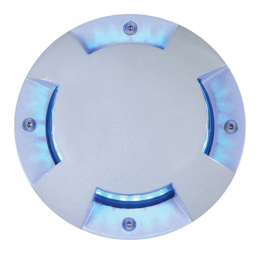 Elation ELAR-2E08CW Inground In-Wall with Cool White 24 LED Stage Lights