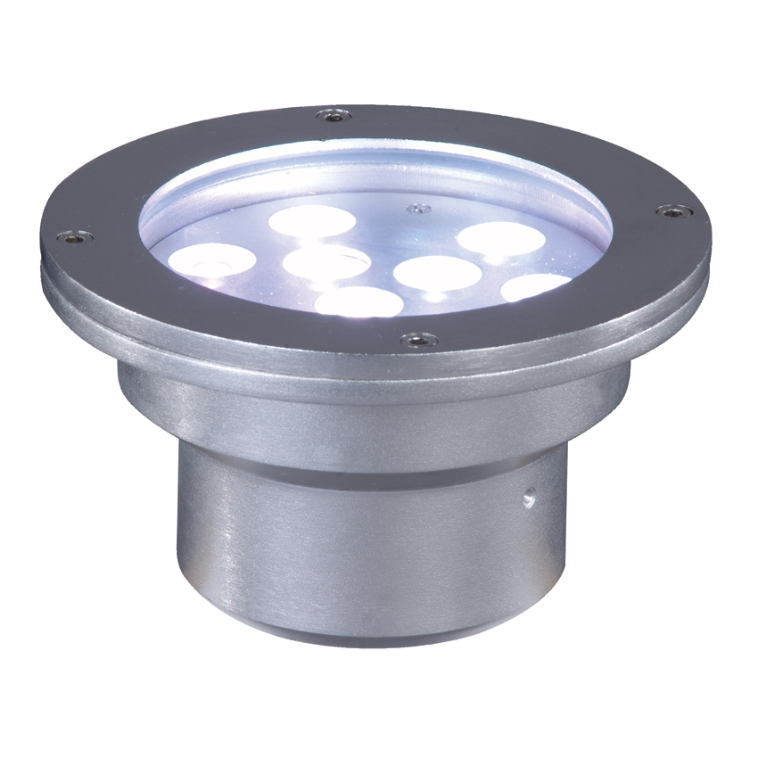 Elation ELAR-4W08 9x1W RGB Recessed Underwater Light Stainless Steel Housing